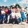 1992 - A Think Tank group of women sitting on beach