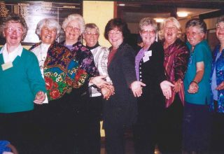 2009 - A group of 9 women from the Illawarra OWN group.