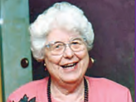 2012 -Noreen Hewett, lifelong activist and the inspiration behind the founding of OWN