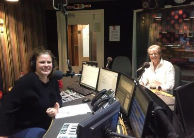 Chair Beverly Baker & Cassie McCullagh talking Homelessness on ABC Radio Sydney