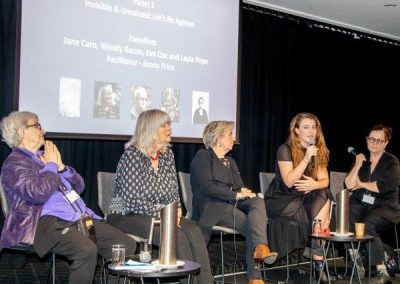Ageism Panel - Jenna Price, Layla Pope, Jane Caro, Wendy bacon & Eav Cox
