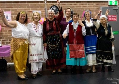 Greek Group in Bankstown Fundraising for Pink Ribbon