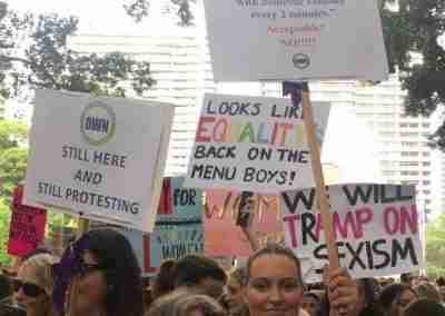 We Are Definitely Still Here & Still Protesting