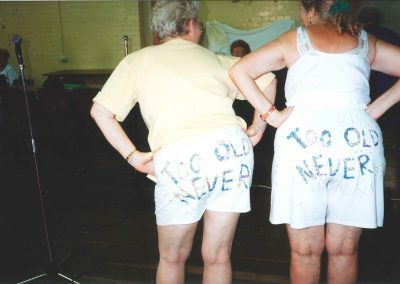 Never Too Old To Be Cheeky!